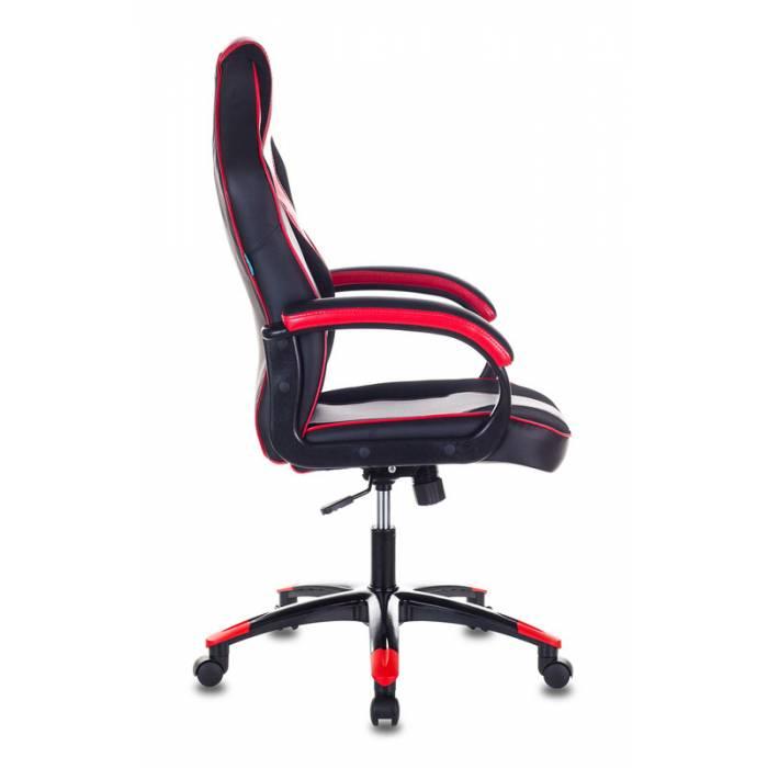 Кресло игровое Бюрократ VIKING 2 AERO RED черный/красный искусственная кожа купить по выгодным ценам
