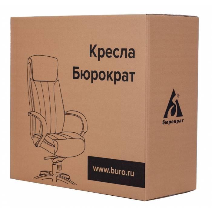 Кресло руководителя Бюрократ T-9927WALNUT-LOW светло-коричневый Leather Eichel кожа низк.спин. крестовина металл/дерево (T-9927WALNUT-LOW/CH) купить по выгодным ценам