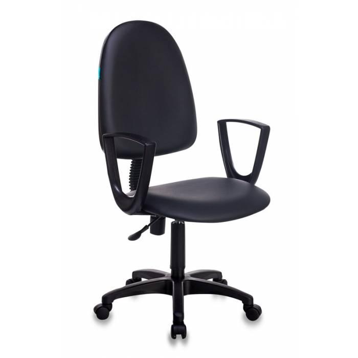 Кресло Бюрократ CH-1300N/OR-16 черный Престиж+ искусственная кожа купить по выгодным ценам