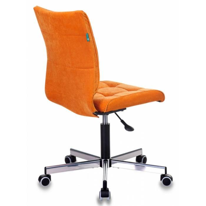Кресло Бюрократ CH-330M/VELV72 оранжевый Velvet 72 крестовина металл купить по выгодным ценам