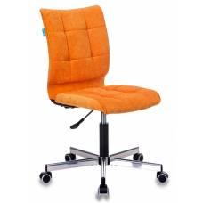 Кресло Бюрократ CH-330M оранжевый Velvet 72 крестовина металл хром