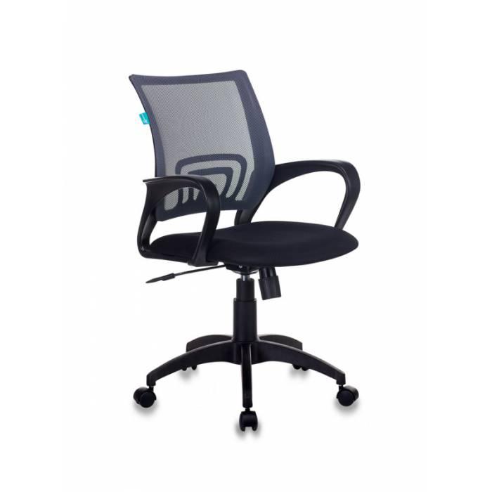 Кресло Бюрократ CH-695N темно-серый TW-04 сиденье черный TW-11 сетка/ткань крестовина пластик купить по выгодным ценам