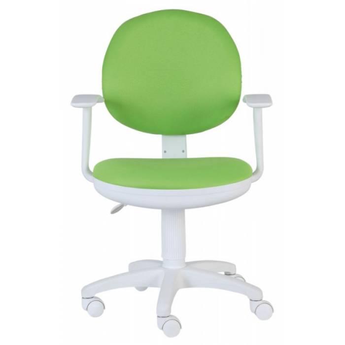Детское кресло Бюрократ Ch-W356AXSN салатовый 15-118 крестовина пластик пластик белый купить по выгодным ценам