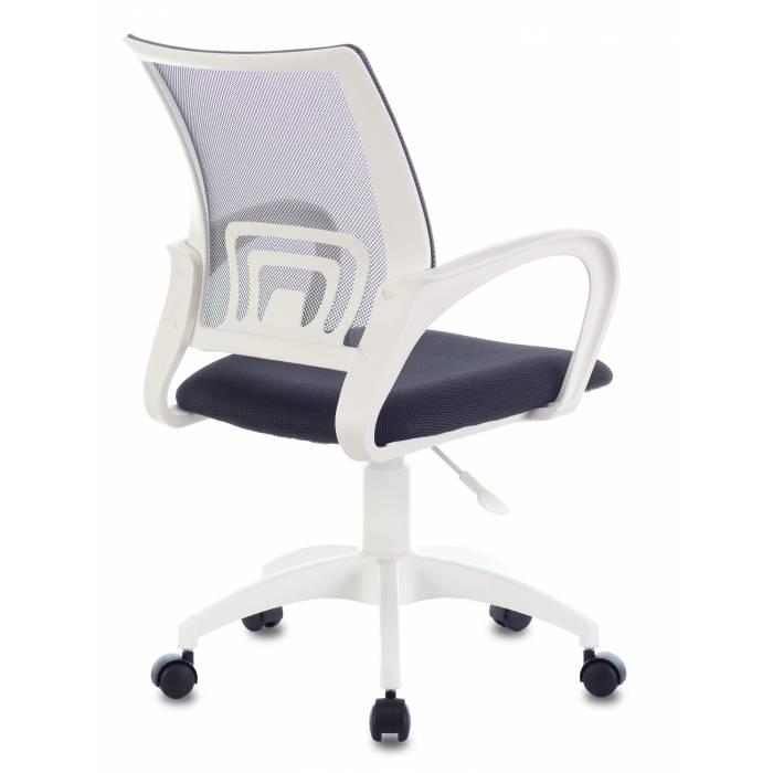 Кресло Бюрократ CH-W695NLT темно-серый TW-04 TW-12 сетка/ткань крестовина пластик пластик белый купить по выгодным ценам