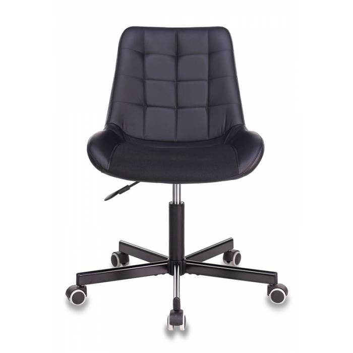 Кресло Бюрократ CH-350M черный искусст.кожа/ткань крестовина металл купить по выгодным ценам