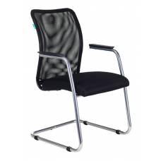Кресло Бюрократ CH-599AV/TW-11 на полозьях черный TW-01 сиденье черный TW-11