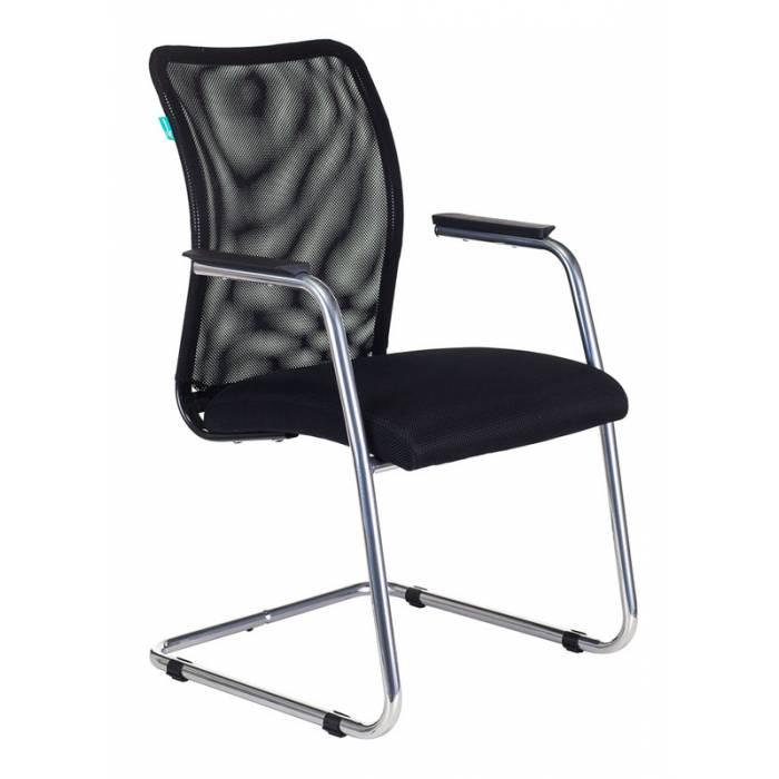 Кресло Бюрократ CH-599AV/TW-11 на полозьях черный TW-01 сиденье черный TW-11 купить по выгодным ценам