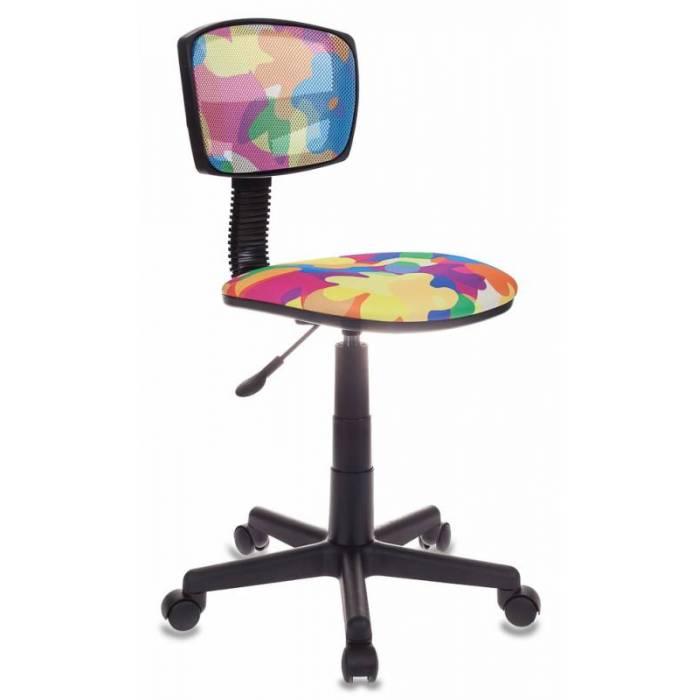 Кресло детское Бюрократ CH-299/ABSTRACT спинка сетка мультиколор сиденье мультиколор абстракция купить по выгодным ценам