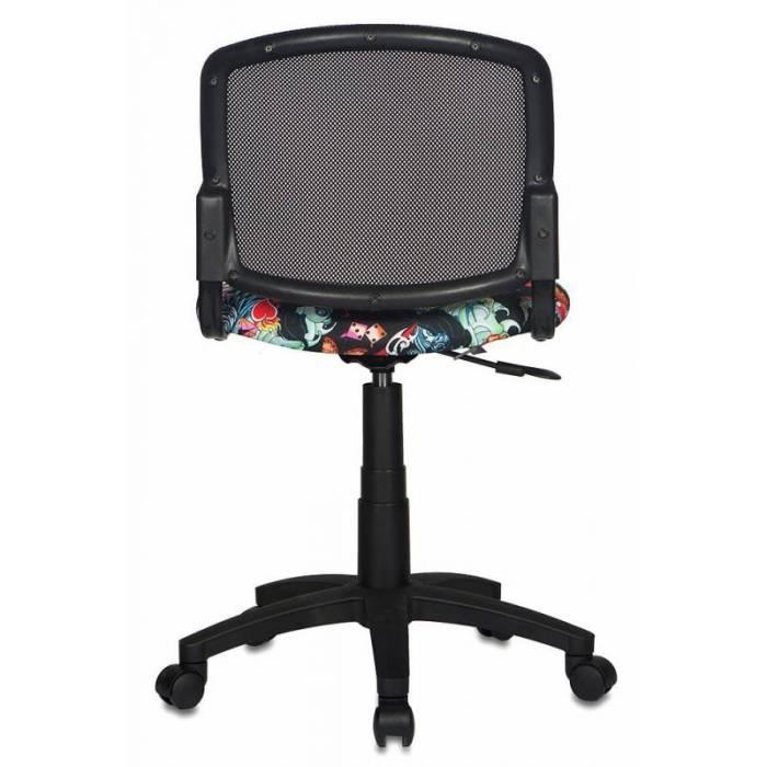 Детское кресло Бюрократ CH-296NX черный сиденье черный черепа крестовина пластик купить по выгодным ценам