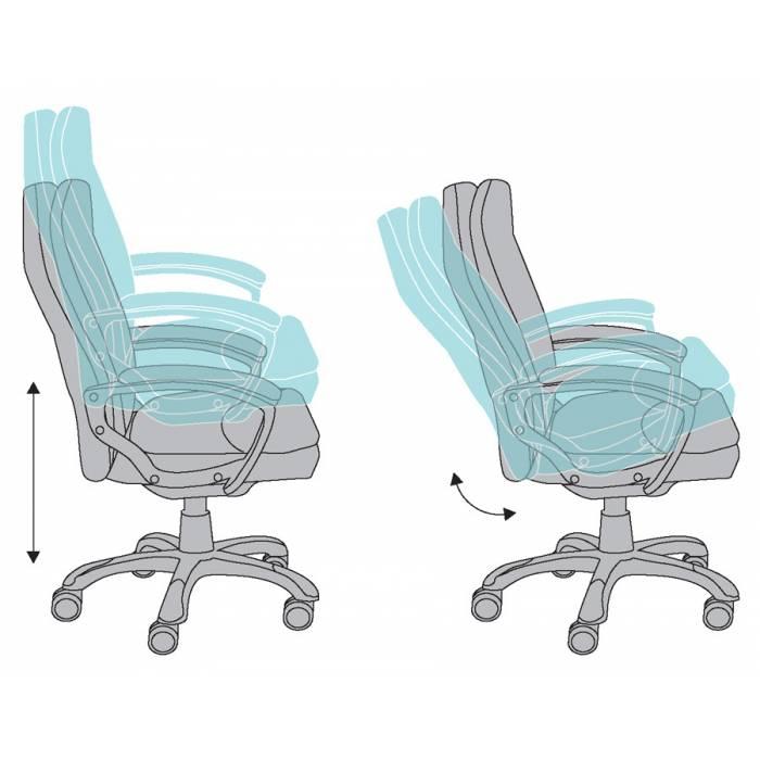 Кресло руководителя Бюрократ CH-868LT/#B черный искусственная кожа купить по выгодным ценам