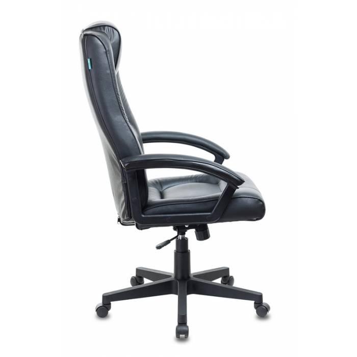 Кресло руководителя Бюрократ T-9906N/BLACK черный кожа купить по выгодным ценам