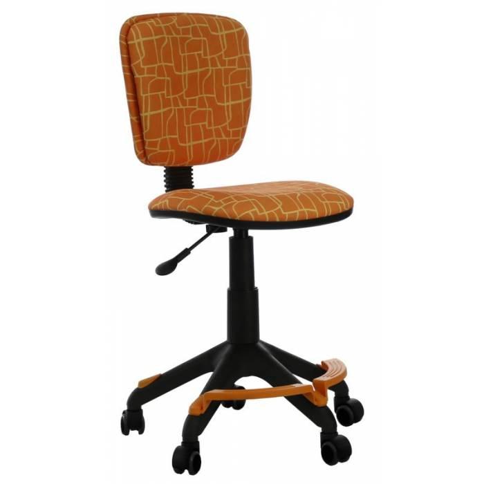 Кресло детское Бюрократ CH-204-F/GIRAFFE подставка для ног оранжевый жираф купить по выгодным ценам