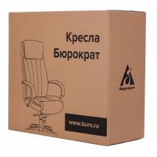 Кресло Бюрократ T-9922SL светло-коричневый Leather Eichel кожа крестовина металл хром