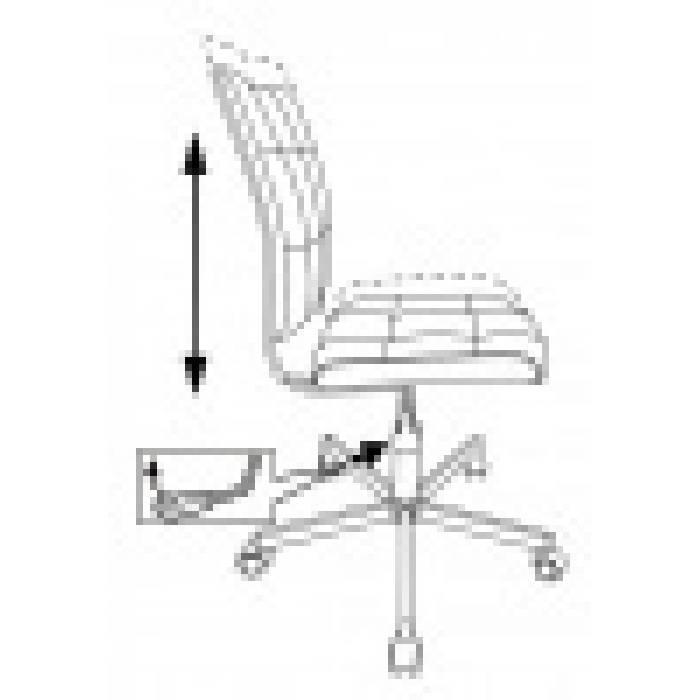 Кресло Бюрократ CH-330M Loft ромбик крестовина металл купить по выгодным ценам