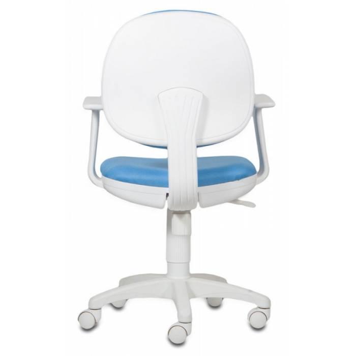 Детское кресло Бюрократ CH-W356AXSN голубой 15-107 крестовина пластик пластик белый купить по выгодным ценам