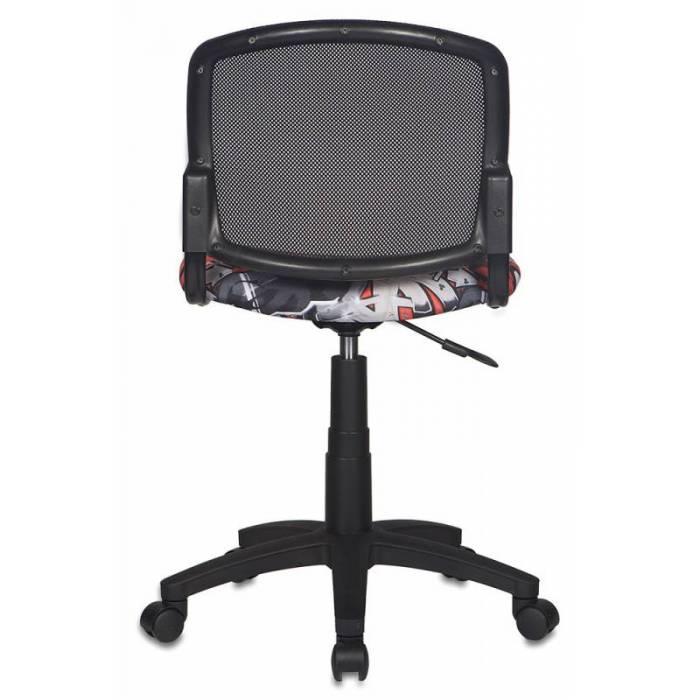 Кресло детское Бюрократ CH-296NX/GRAFFITY спинка сетка черный сиденье черный граффити Graffity купить по выгодным ценам