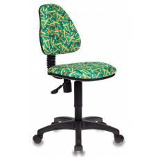 Кресло детское Бюрократ KD-4/PENCIL-GN зеленый карандаши
