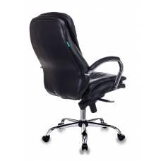 Кресло руководителя Бюрократ T-9950/BLACK-PU сиденье черный искусственная кожа крестовина хром