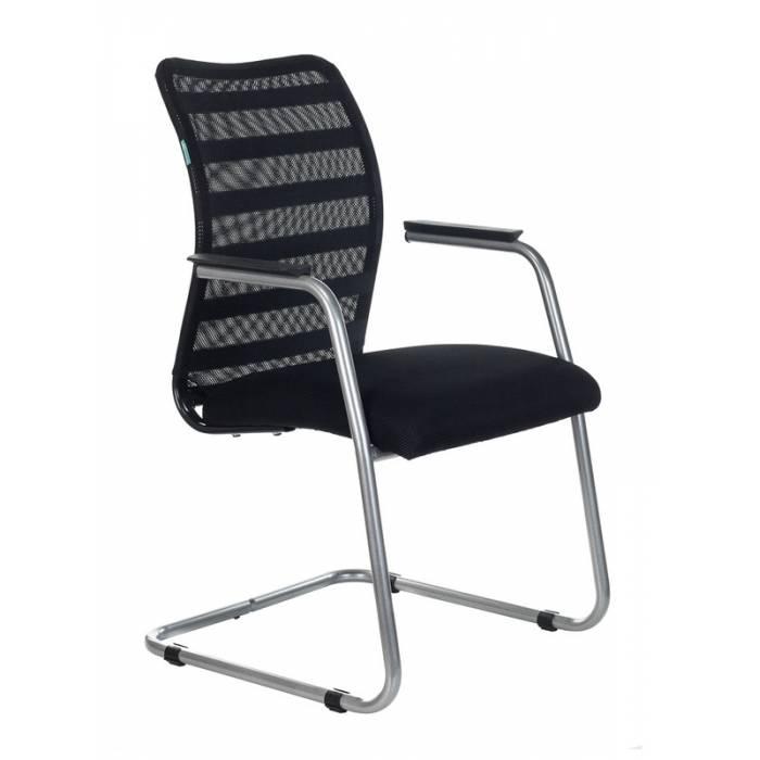 Кресло Бюрократ CH-599AV/32B/TW-11 на полозьях черный TW-32K01 сиденье черный TW-11 сетка/ткань купить по выгодным ценам