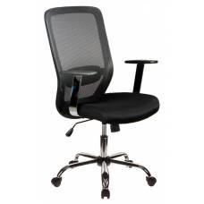 Кресло Бюрократ CH-899SL/B/TW-11 спинка сетка черный TW-01 сиденье черный TW-11 крестовина хром