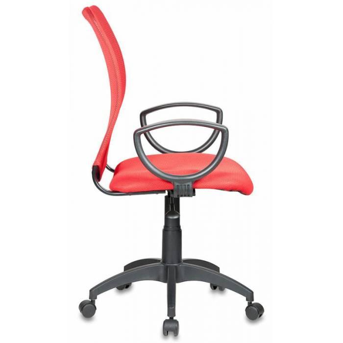 Кресло Бюрократ CH-599/R/TW-97N спинка сетка красный сиденье красный TW-97N купить по выгодным ценам