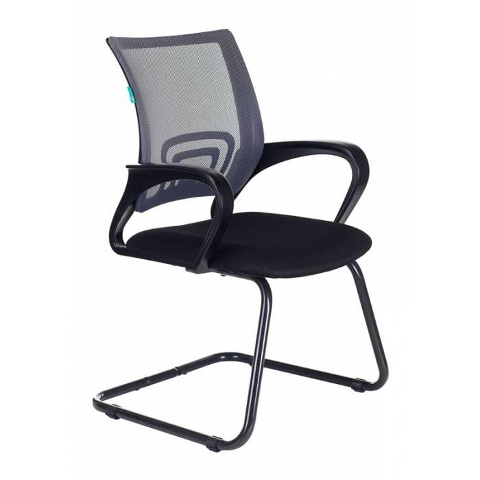 Кресло Бюрократ CH-695N-AV/DG/TW-11 на полозьях серый TW-04 сиденье черный TW-11 купить по выгодным ценам