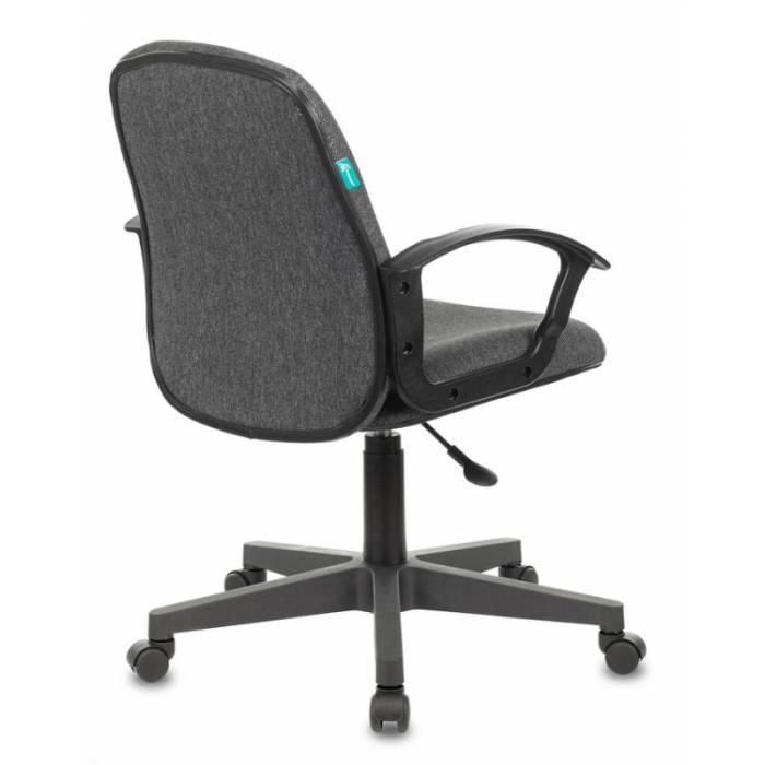 Кресло Бюрократ CH-808-LOW/#G низкая спинка серый 3C1 НА ПИАСТРЕ купить по выгодным ценам