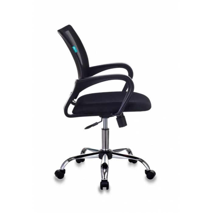 Кресло Бюрократ CH-695N/SL/BLACK спинка сетка черный TW-01 сиденье черный TW-11 крестовина хром купить по выгодным ценам