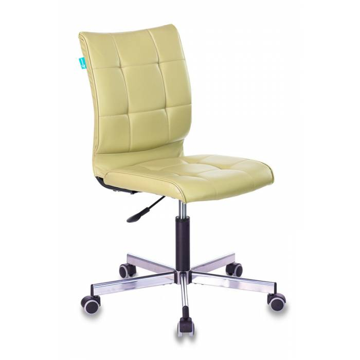 Кресло Бюрократ CH-330M/GREEN без подлокотников зеленый Best 79 искусственная кожа крестовина металл купить по выгодным ценам
