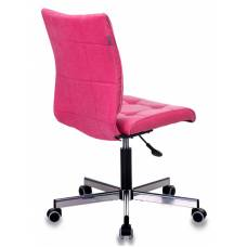 Кресло Бюрократ CH-330M розовый Velvet 36 крестовина металл хром