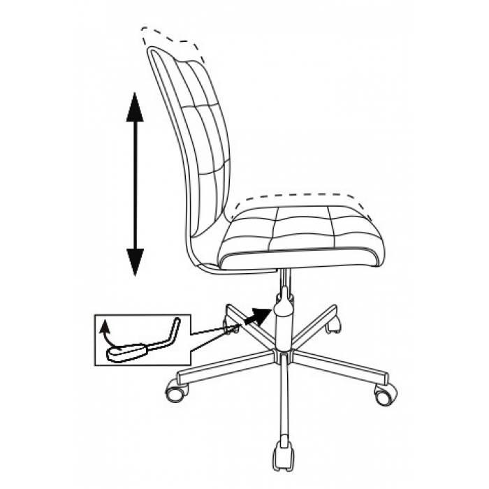 Кресло Бюрократ CH-330M черный/белый Morris гусин.лапка крестовина металл купить по выгодным ценам
