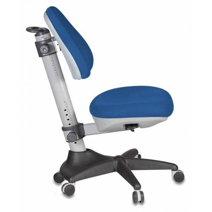 Кресло детское Бюрократ KD-2/G/TW-10 синий TW-10 купить по выгодным ценам