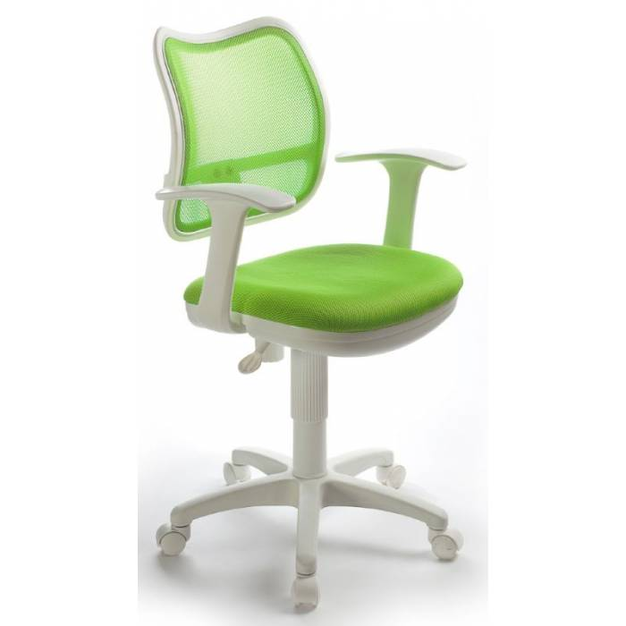 Детское кресло Бюрократ Ch-W797 салатовый TW-03A сиденье салатовый TW-18 сетка/ткань крестовина пластик пластик белый купить по выгодным ценам
