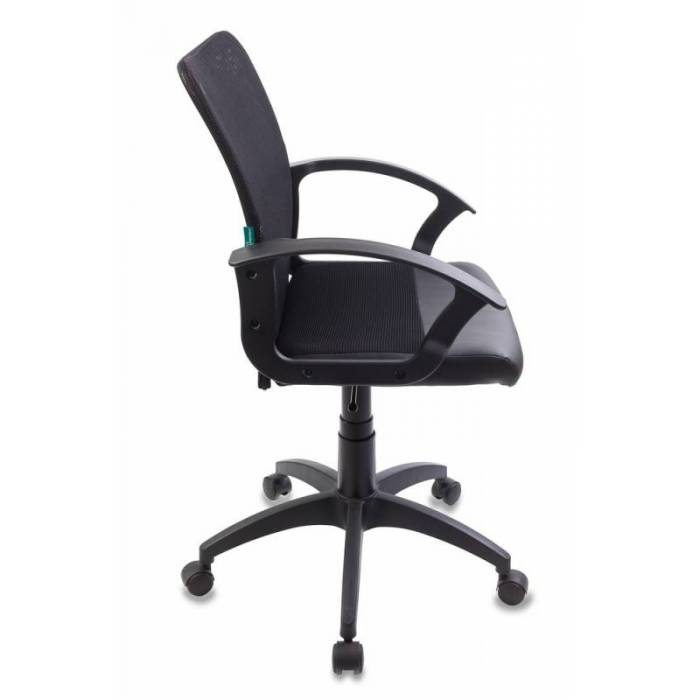Кресло Бюрократ CH-590/BLACK спинка сетка черный сиденье черный искусственная кожа купить по выгодным ценам