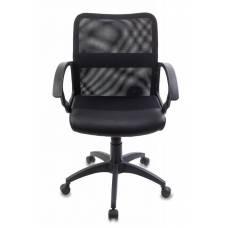 Кресло Бюрократ CH-590/BLACK спинка сетка черный сиденье черный искусственная кожа