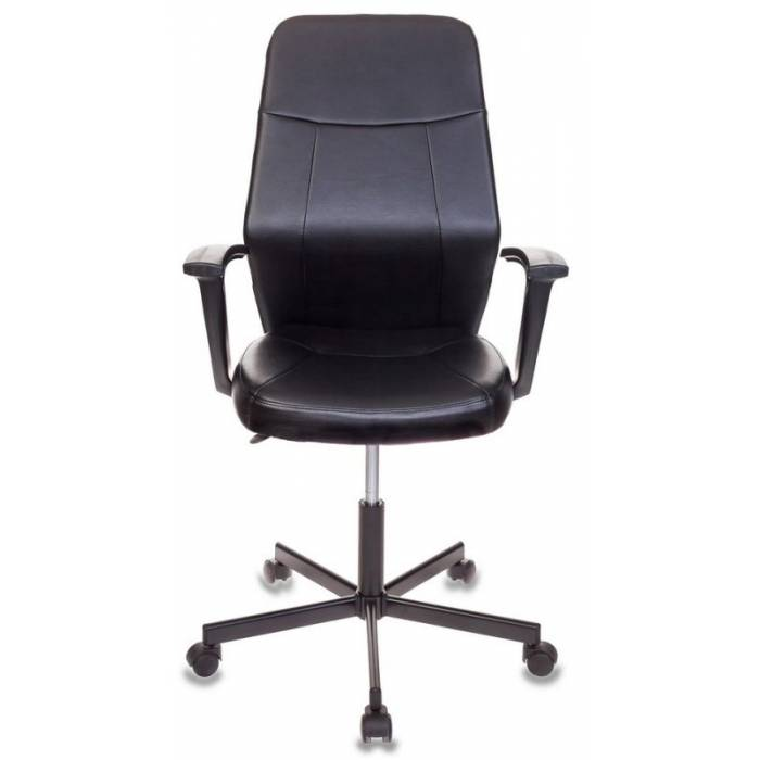 Кресло Бюрократ CH-605/BLACK черный искусственная кожа крестовина металл купить по выгодным ценам