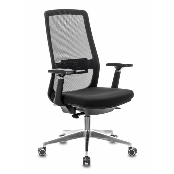 Кресло руководителя Бюрократ MC-915/B/26-B01 черный TW-01 26-B01 крестовина алюминий купить по выгодным ценам