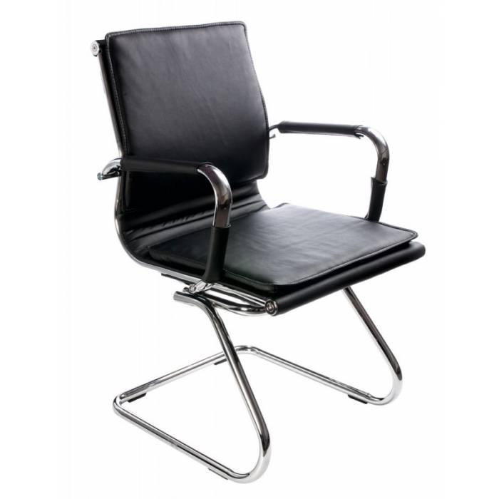 Кресло Бюрократ CH-993-Low-V/Black низкая спинка черный искусственная кожа купить по выгодным ценам