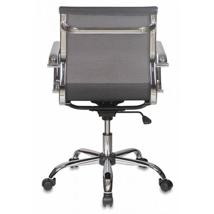 Кресло Бюрократ CH-993-Low черный M01 сетка низк.спин. крестовина металл хром купить по выгодным ценам