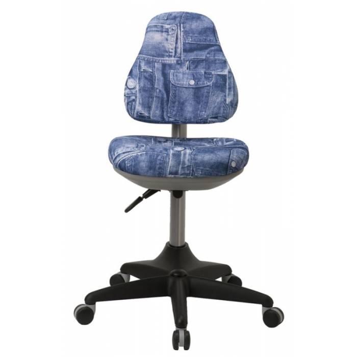 Кресло детское Бюрократ KD-2/G/50-31 синий джинса 50-31 купить по выгодным ценам