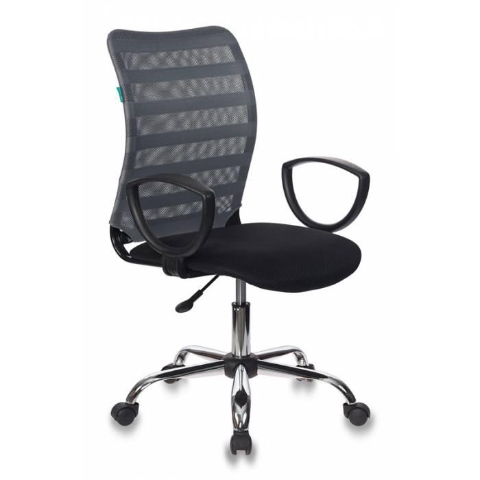 Кресло Бюрократ CH-599AXSL/32G/TW-11 спинка сетка серый TW-32K03 сиденье черный TW-11 крестовина хром купить по выгодным ценам