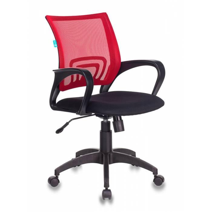 Кресло Бюрократ CH-695N/R/TW-11 спинка сетка красный TW-35N сиденье черный TW-11 купить по выгодным ценам