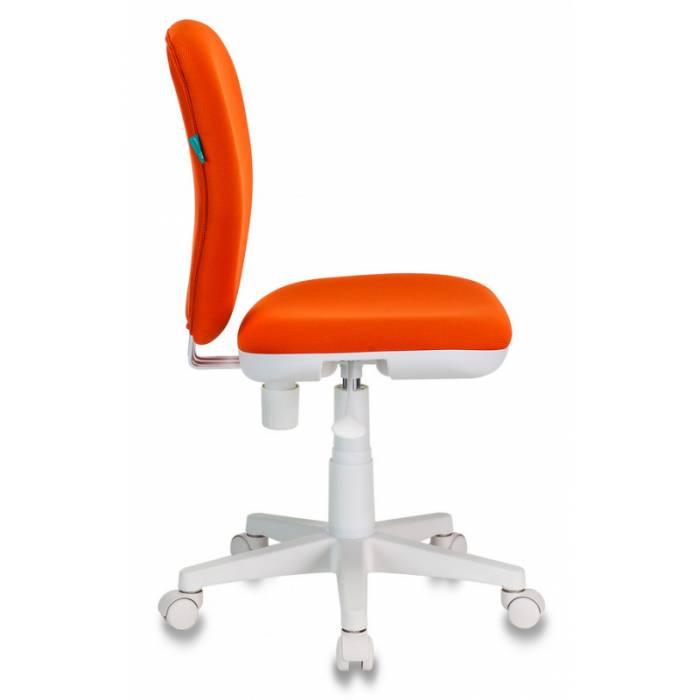 Кресло детское Бюрократ KD-W10/26-29-1 оранжевый 26-29-1 (пластик белый) купить по выгодным ценам