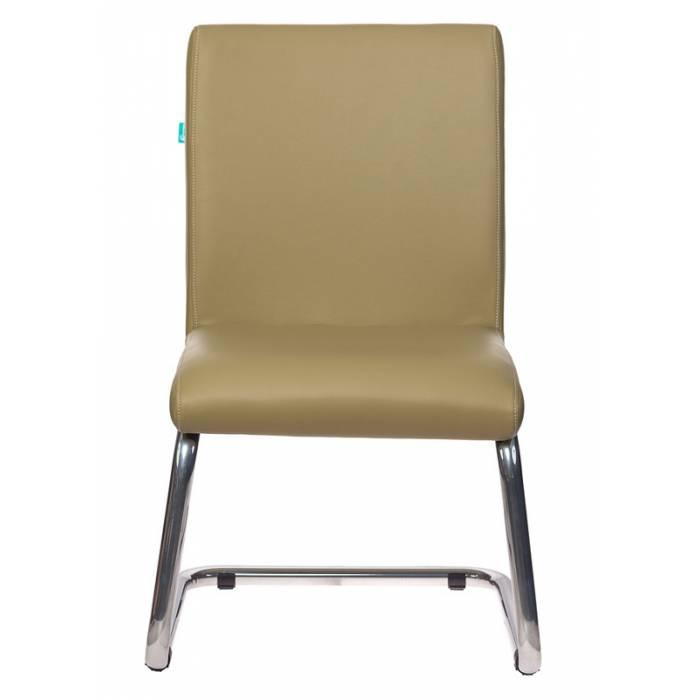 Кресло Бюрократ CH-250-V зеленый искусственная кожа полозья металл хром купить по выгодным ценам